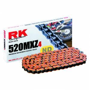 RK 520 MXZ4 Chain X 120 Links - Neon Orange