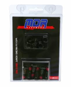 MDR Sprocket Bolts + Nut Set 6 M8 x 30mm