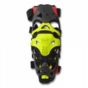 UFO Morpho FIT Neon Yellow Knee Brace Right Side