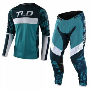 Troy Lee Designs SE Pro Dyeno Marine Motocross Kit Combo