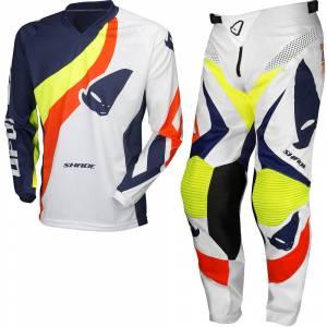 UFO Shade White Motocross Kit Combo
