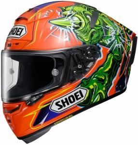 Shoei X-Spirit 3 Power Rush TC8 Full Face Helmet
