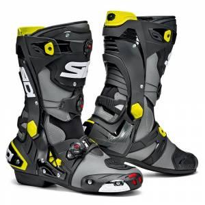 Sidi Rex Grey Black Yellow Motorcycle Boots