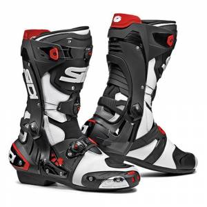 Sidi Rex Grey Black Motorcycle Boots