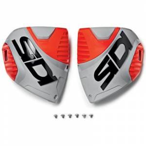 Sidi Crossfire 3 Red Fluo Ash Boot Shin Plate