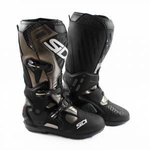 Sidi Atojo SRS Lead Grey Black Motocross Boots