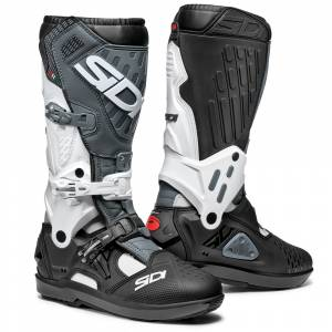 Sidi Atojo SRS White Black Grey Motocross Boots