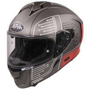Airoh Spark Cyrcuit Red Full Face Helmet