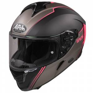 Airoh Spark Flow Black Pink Full Face Helmet