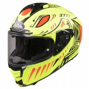 Airoh Spark Vibe Yellow Full Face Helmet