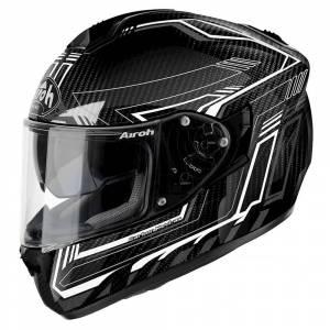 Airoh ST 701 Safety Full Carbon White Full Face Helmet
