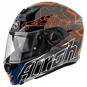 Airoh Storm Bionikle Orange Full Face Helmet