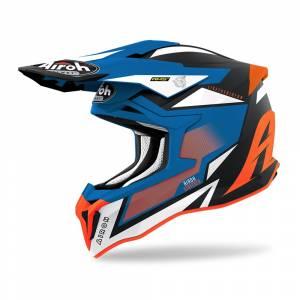 Airoh Strycker Axe Orange Blue Matt Helmet