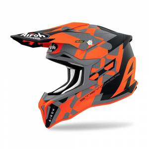 Airoh Strycker XXX Orange Matt Helmet
