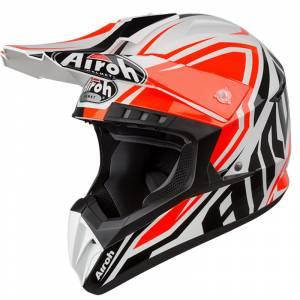 Airoh Switch Impact Orange Motocross Helmet