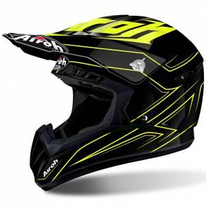 Airoh Spacer Switch Black Yellow Motocross Helmet