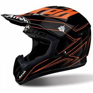 Airoh Spacer Switch Black Orange Motocross Helmet