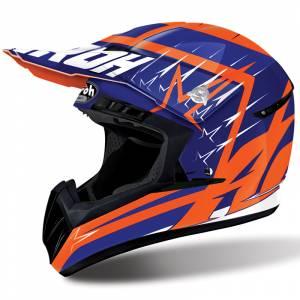 Airoh Starstruck Switch Blue Motocross Helmet
