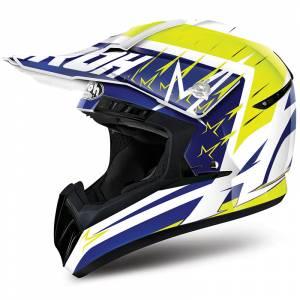 Airoh Starstruck Switch Yellow Motocross Helmet