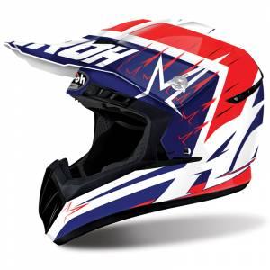 Airoh Starstruck Switch Red Motocross Helmet