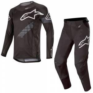 Alpinestars Techstar Graphite Motocross Kit Combo