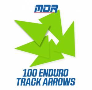 MDR Enduro Track Arrows - Neon Green