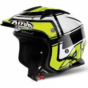 Airoh TRR S Wintage Yellow Trials Helmet