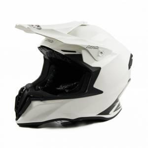 Airoh Twist Plain White Motocross Helmet