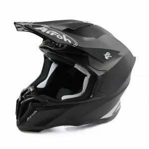 Airoh Twist 2.0 Plain Black Motocross Helmet
