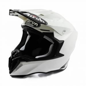Airoh Twist 2.0 Plain White Motocross Helmet