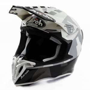 Airoh Twist 2.0 Frame Grey Motocross Helmet