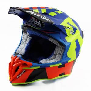 Airoh Twist 2.0 Frame Azure Motocross Helmet