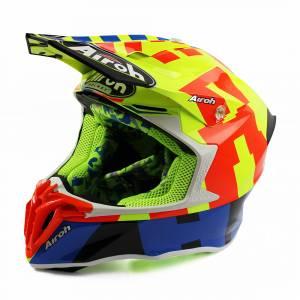 Airoh Twist 2.0 Frame Yellow Motocross Helmet