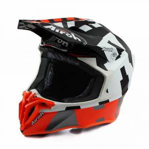 Airoh Twist 2.0 Frame Orange Motocross Helmet