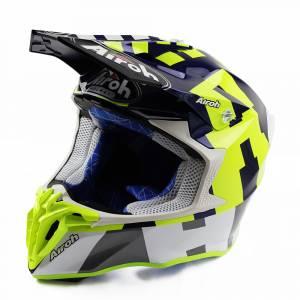 Airoh Twist 2.0 Frame Blue Motocross Helmet