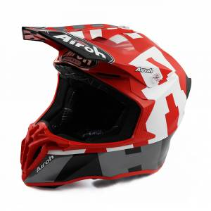 Airoh Twist 2.0 Frame Red Motocross Helmet