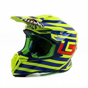 Airoh Twist Cairoli Qatar Yellow Motocross Helmet