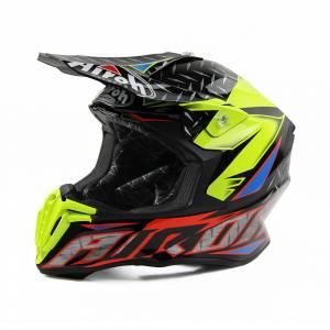 Airoh Twist Iron Orange Motocross Helmet