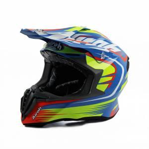 Airoh Twist Mix Blue Motocross Helmet