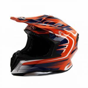 Airoh Twist Mix Orange Motocross Helmet