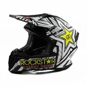 Airoh Twist Rockstar Black Motocross Helmet