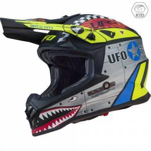 UFO Kids Bomber Motocross Helmet