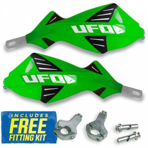 UFO Discover Handguards - KX Green