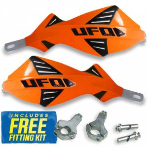UFO Discover Handguards - KTM Orange