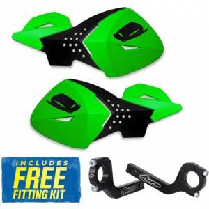 UFO Escalade Handguards - Green