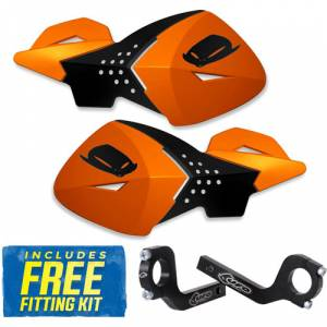 UFO Escalade Handguards - Orange