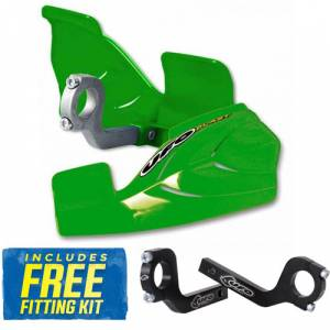 UFO Glenny Handguards - Green