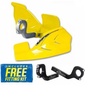 UFO Glenny Handguards - Yellow