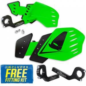 UFO Guardian Handguards - KX Green