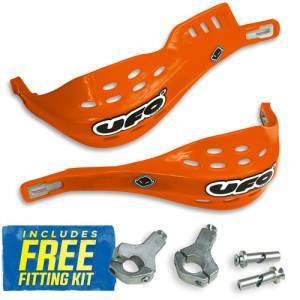 UFO Jumpy Handguards - KTM Orange